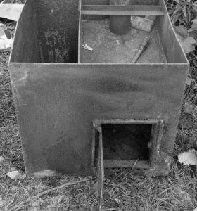 Печка железная в баню