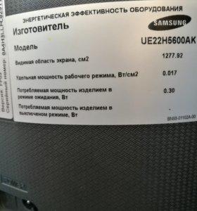 Телевизор Samsung 22 дюйма на запчасти