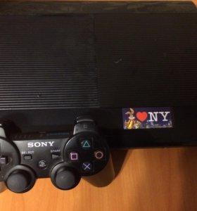 Продам PS3 со всеми играми очень срочно