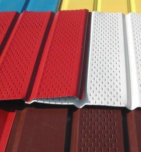 Металлосайдинг и другие фасадные элементы от произ