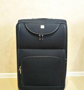 Тканевый чемодан 4roads индиго полиэстер