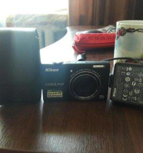 Фотоаппарат Nikon Coolpix S6200