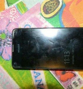 Продам телефон Microsoft Lumia 550.