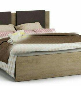 Кровать универсальная с мягкой спинкой Веста СБ-22