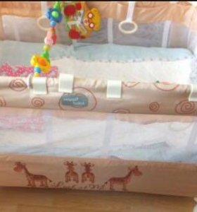 "Манеж-кровать Happy Baby ""Thomas"""