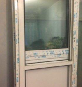 Болконная дверь 2070/840