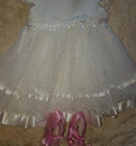 Платье для малышки от 0 до 9