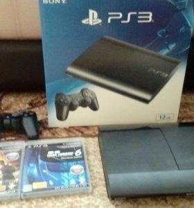 !!СРОЧНО!!Sony PlayStation 3 super slim 500 гб.
