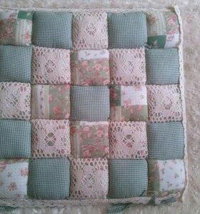 подушки на стулья 40 см на 40 см
