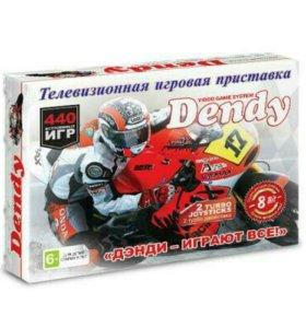 Игровая приставка Dendy +440 игр