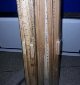 Линейка деревянная для раскроя