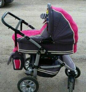Детская коляска 2 в 1 ADAMEX COSMOS (