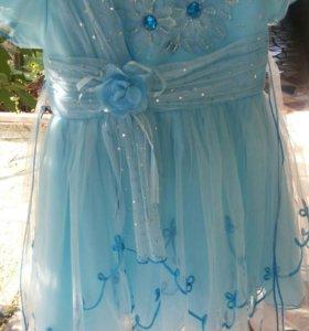 Платье на девочку 2-4лет