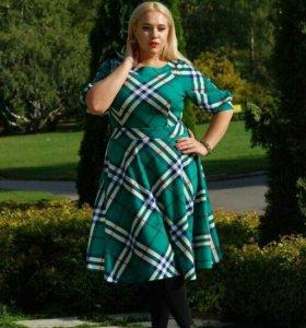 Платье миди 52 и 54 размеры
