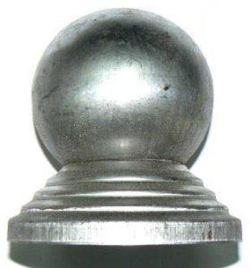заглушка для труб металлическая с шаром