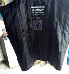 Мото куртка!!кожа!!54размер!