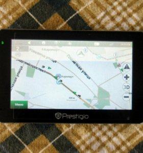 Навигатор GPS Prestigio Geovision 5466BT