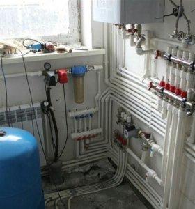 Вода в дом, отопление и канализация, Сантехник