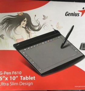 Графический планшет (без пера) Genius g-pen f610