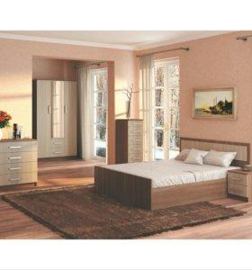 Спальня Фиеста Ясень модульный набор