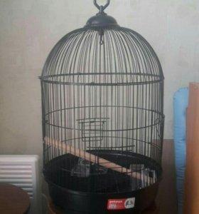 Клетка для попугая новая