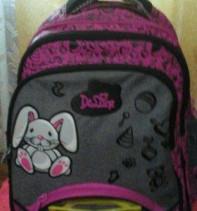 Школьный ранец для девочки DELUNE