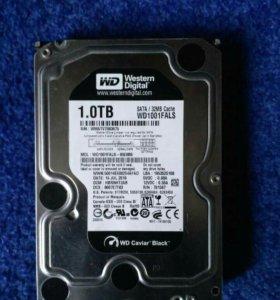 Жёсткий диск WD black 1 tb