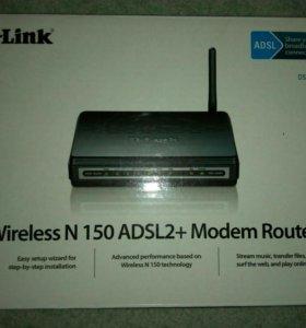 Dlink 2640u (модем+wifi)