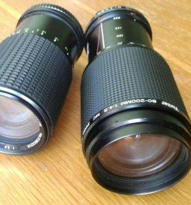 Зум объективы вивитар vivitar 80-200mm