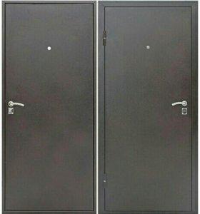 Дверь входная Стройгост 5-1 мет/мет