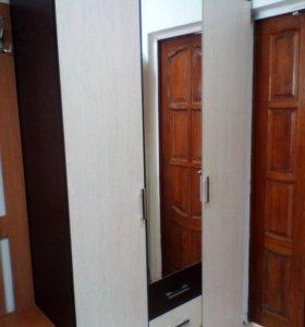 Шкаф 3-х дверный с ящиками ширина 120 см