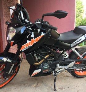 Мотоцикл Ktm Duke 200 2017
