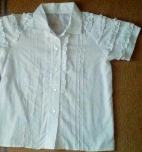 Блузка школьная детская