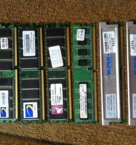 оперативки DDR2