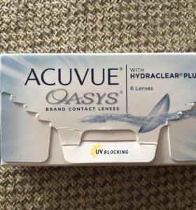 Контактные линзы acuvue oasys на -2.00