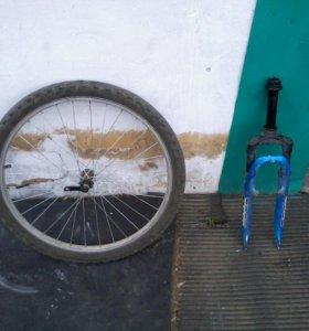 Вилка колесо