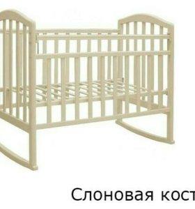 Детская кровать+ матрац