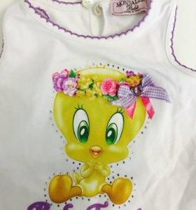 Платье на девочку monnalisa bebe