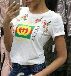 Женские футболки GUCCI
