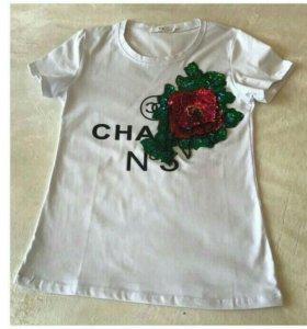 Женские футболки CHANEL