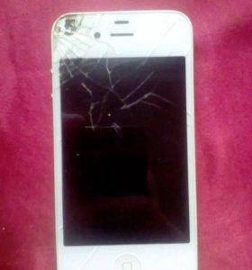 Продам или обменяю на андроид, айфон 4s на 8 гб
