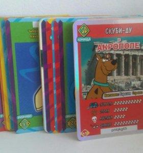 Карточки скуби ду 45шт