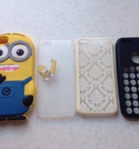 Чехлы для iPhone 5s и iPhone 5c
