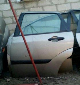 Дверь задняя на форд фокус