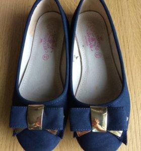Балетки туфли 34