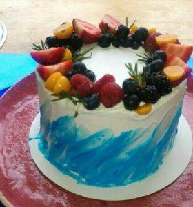 Торты, пирожные, капкейки и домашняя выпечка