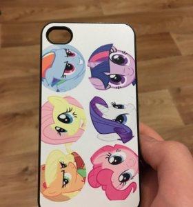 Накладка-чехол My Little Pony для iPhone 4/4S