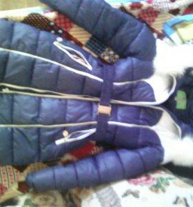 Зимняя куртка 164 см