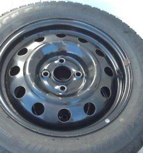 Продам зимние колёса bridgestone 195/60 R15