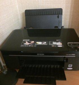 Принтер  Epson струйный, б/у в отличном состоянии.